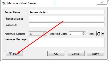 How To Custom My Server Bannerbutton TeamSpeak FAQ And - Minecraft server erstellen kostenlos legal