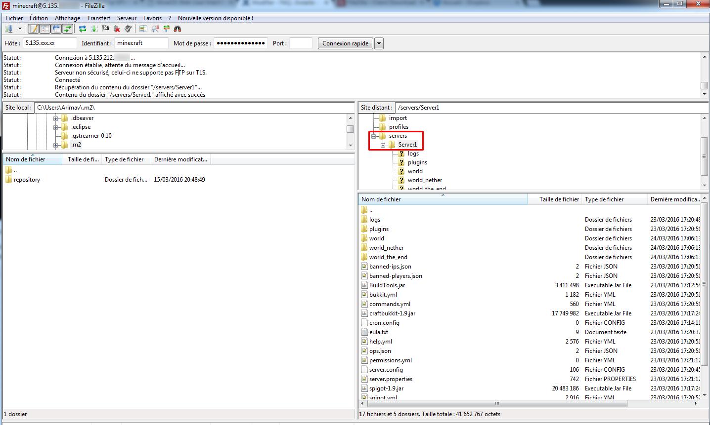Comment installer un serveur minecraft avec mineos faq et tutoriels vps omgserv - Debian bureau a distance ...